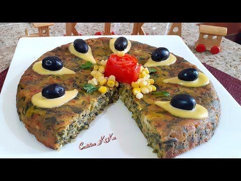 كيكة مالحة بالسبانخ و الجزر تناسب الصيف و رحلات البحر Youtube Food Breakfast Vegetable Pizza