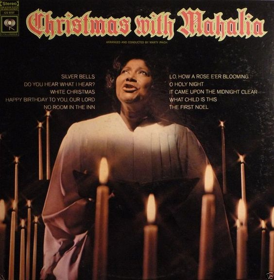 Mahalia Jackson ‎- Christmas With Mahalia CANADA 1968 Lp near mint
