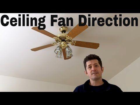 Ceiling Fan Direction Youtube Ceiling Fan Direction Ceiling Fan Ceiling