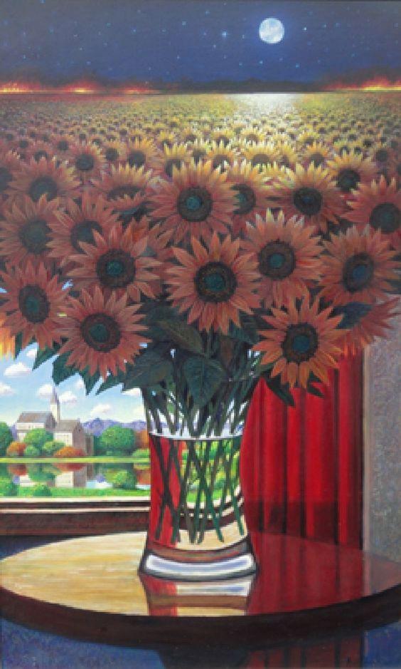 Ernesto Arrisueño, 1957 ~ Magic Realism painter | Tutt'Art@ | Pittura * Scultura * Poesia * Musica |