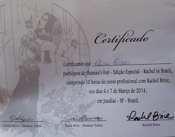 Dança do Ventre Vinhedo - Atelier Beth Fallahi: Certificação de qualidade não é pra qualquer uma.....