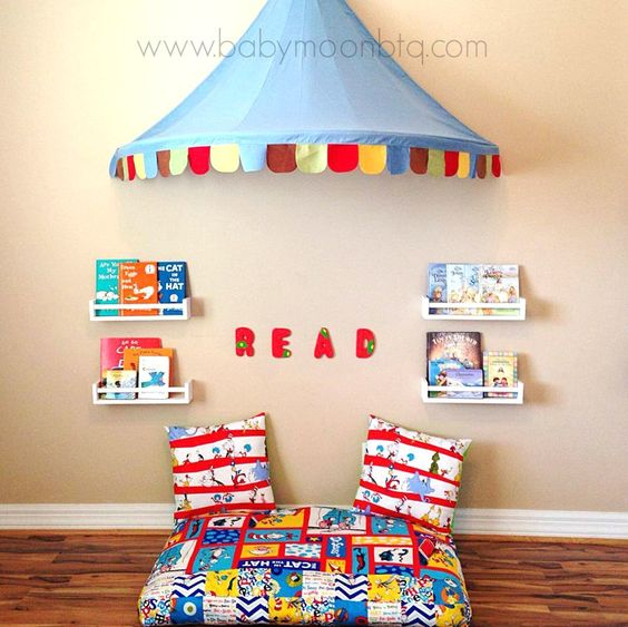 Pinterest the world s catalog of ideas for Kids reading corner ideas