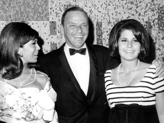 Nancy, Frank and Tina Sinatra at the Von Ryan´s Express world premiere. June, 1965