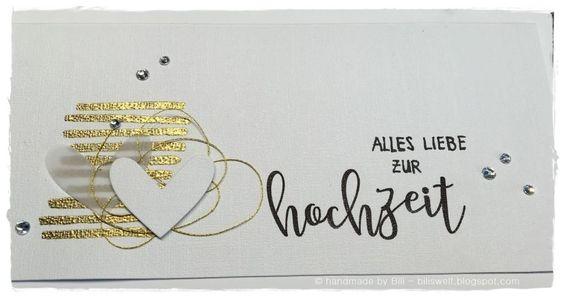 Hochzeitskarte - wedding card