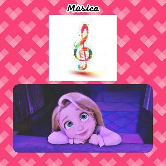 Até a Rapunzel ama Cantar♥