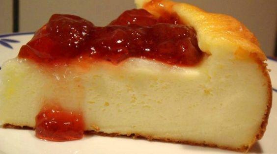 receta puding de queso