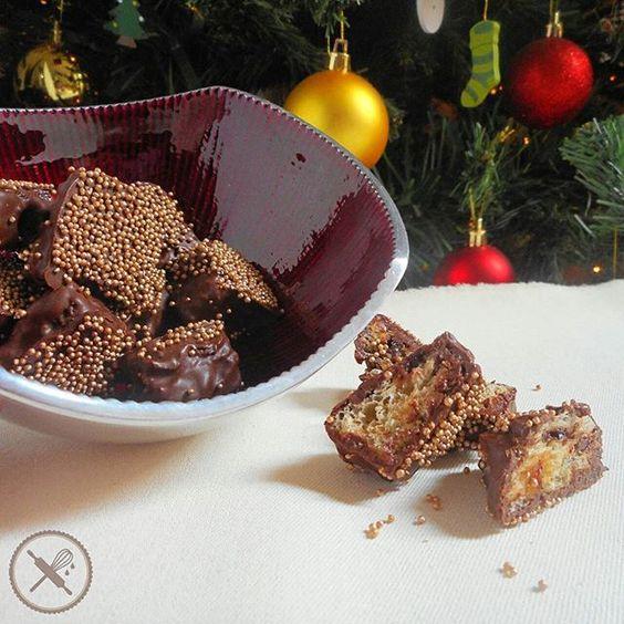 Novidade para o Natal...Xmas bites! Quadradinhos de chocottone ou panettone cobertos com chocolate e confeitos. E se fizer a encomenda ainda hoje você ganha 20% de desconto por causa da Black Friday!  Só mandar uma email para nuageduchocolat@gmail.com ou uma mensagem para 11 964562067.