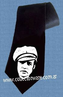 MARLON BRANDO The Wild One drawing 1 DELUXE ART CUSTOM HANDPAINTED TIE  $25.00 + shipping  *Please see details at http://www.collectorware.com.ar/neckties-1movies_tv.htm