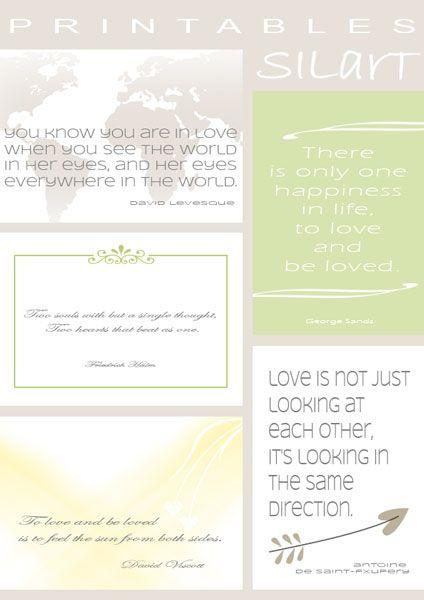 Printables #06 - wedding