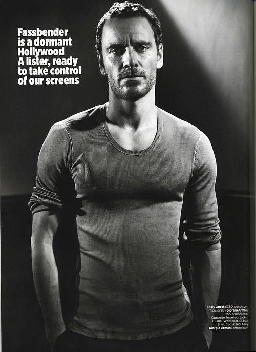 Michael Fassbender; hell, I hope so! :)