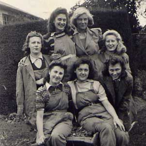 British Women's Land Army 1942
