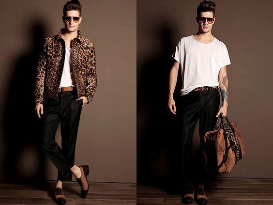 Leopard for men .. not so sure about it