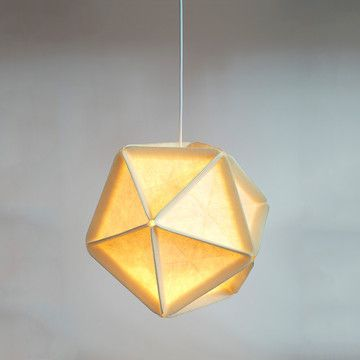 lamp icosa, by ross menuez