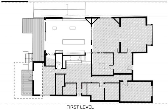 Furniture:Interesting Sketch For Home Design With First Level Detail Ideas Douglas Street: an Exotic House in the Middle of Lush Forest
