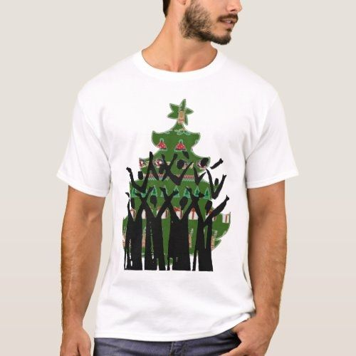 New Christmas Music Gospel 2020 Sing Christmas Music Carol Singers Gospel Choir T Shirt in 2020