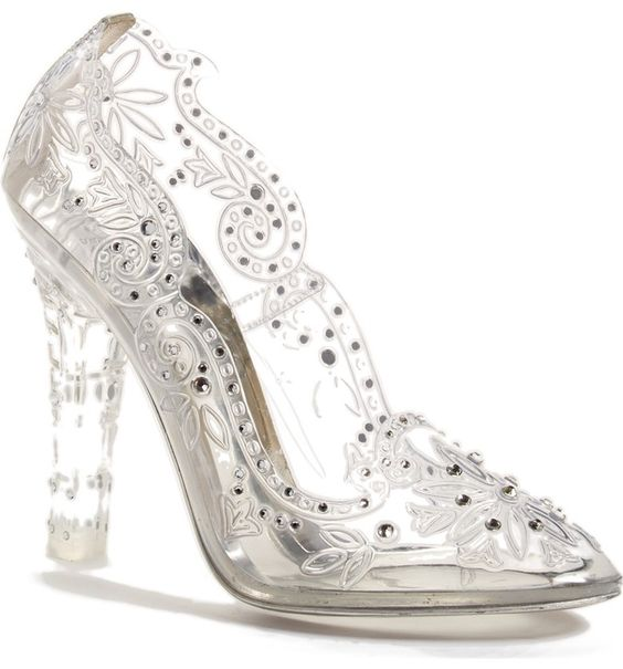 Dolce & Gabbana 'Glass Slipper' Pump