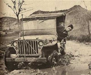 Jeep driver is looking to get a face full of mud real for Garage jeep luxembourg
