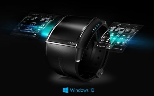 Windows 10 Wallpaper Clock With Digital Watch Hd Wallpapers Wallpapers Download High Resolution Wallpapers Technology Wallpaper New Technology Gadgets Cool Technology