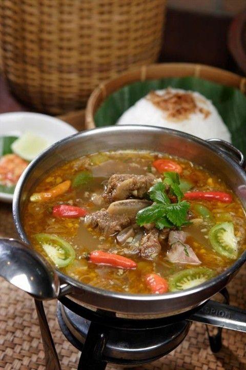 Asem Asem Iga Beef Recipes Food Malaysian Food