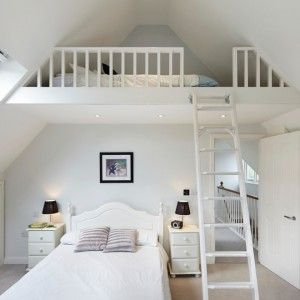 Cute bedroom ideas for 13 year olds traditional bedroom with loft bedroom in london by dyer - Bedroom ideas for yr old girl ...