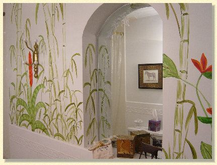 Paint designs for walls Bamboo and Paint designs on Pinterest