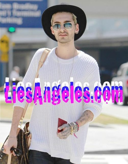 29.03.2015 Los Angeles - Bill & Tom Kaulitz @ LAX Airport