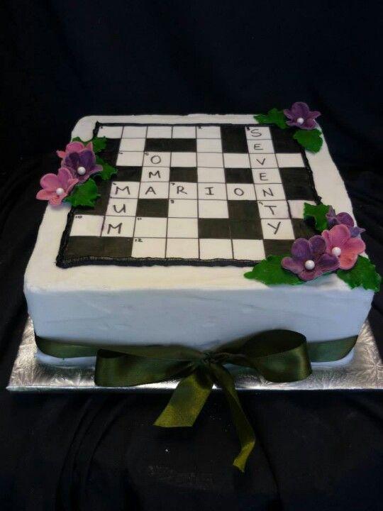 Cake Decorations Crossword