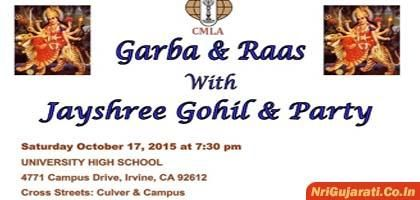 CMLA Presents Garba and Raas 2015 in USA at University High School Irvine  Visit us: http://www.nrigujarati.co.in/Topic/3955/1/cmla-presents-garba-and-raas-2015-in-usa-at-university-high-school-irvine.html