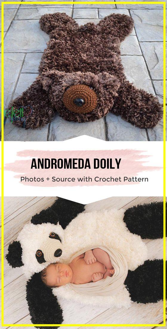 Crochet Faux Bear Skin Nursery Rug Free Pattern Via Shareapattern Com Crochet Rug Patterns Crochet Rug Easy Crochet Rug Patterns