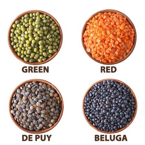 center piece filler, lentils
