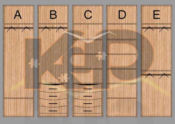 Tipos modulos interior de armario a medida armarios - Armarios empotrados a medida ...