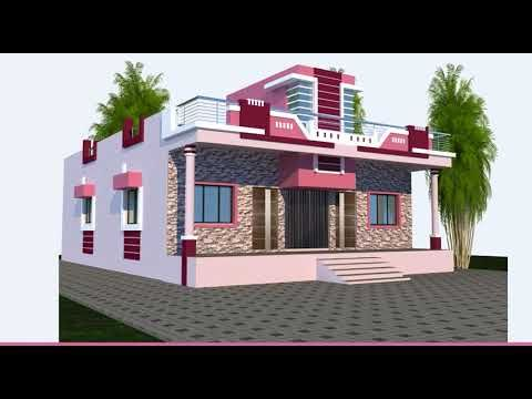 Do Bhai Ke Liye House Design And Floor Plan Youtube House Front Design House Design Pictures Unique House Design