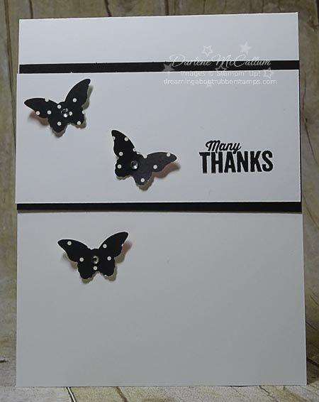 Bitty da borboleta perfurador e cartão de papel bonito Pétalas