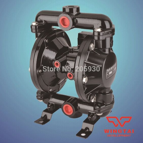 244.00$  Buy here - http://ali6jr.worldwells.pw/go.php?t=1837751187 - BML-20 Double Way Ink and Glue Pneumatic Diaphragm Pump 244.00$