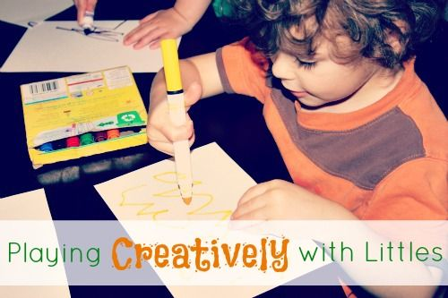 Playing Creatively with Littles