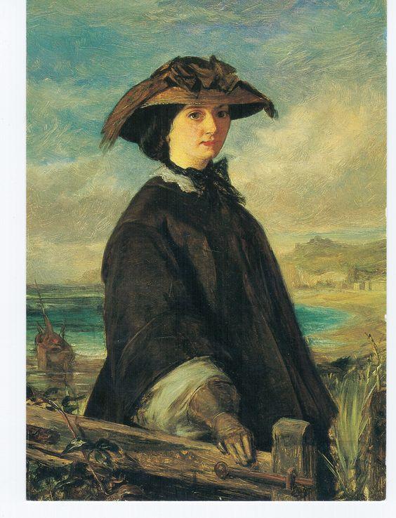 A Walk on the Beach, 1855-60