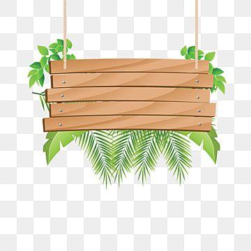 Trainer Avec Les Bois Tropicaux Signe Des Cliparts Bois Decoration Bois Png Et Vecteur Pour Telechargement Gratuit Green Leaf Background Wooden Flowers Spring Flowers Background