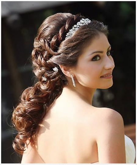Miraculous Wedding Hairstyles For Brides And Brides On Pinterest Short Hairstyles Gunalazisus
