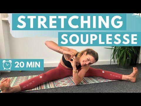 Routine Stretching Debutant Pour Gagner En Souplesse 20 Min Youtube Gagner En Souplesse Exercice Souplesse Exercice De Souplesse