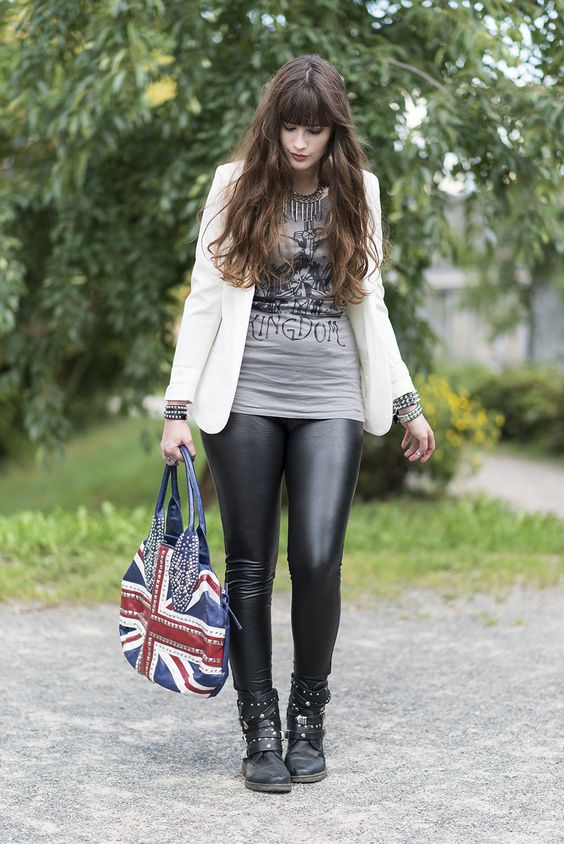 OUTFIT: The Blogger's Choice - Rock Chic | andysparkles