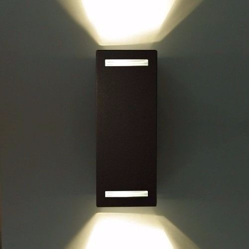 Aplique Bidireccional Intemperie Apto Dicro Led 2 024 00 Lamparas De Pared Modernas Lampara Dicroica Lamparas De Pared
