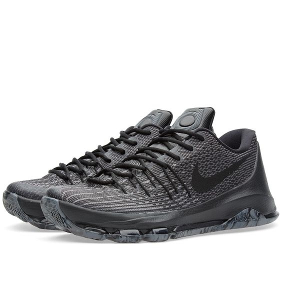 black kd shoes