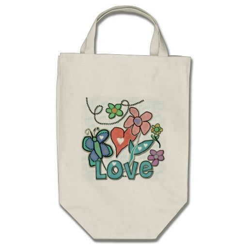 Love Garden Bags  Click on photo to purchase. Check out all current coupon offers and save! http://www.zazzle.com/coupons?rf=238785193994622463&tc=pin