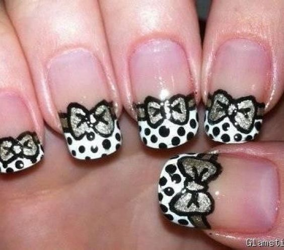 Dotted Bow design