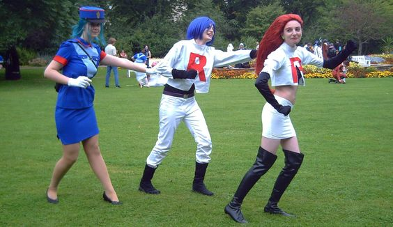 Pokemon: Police and Team Rocket. Awesome