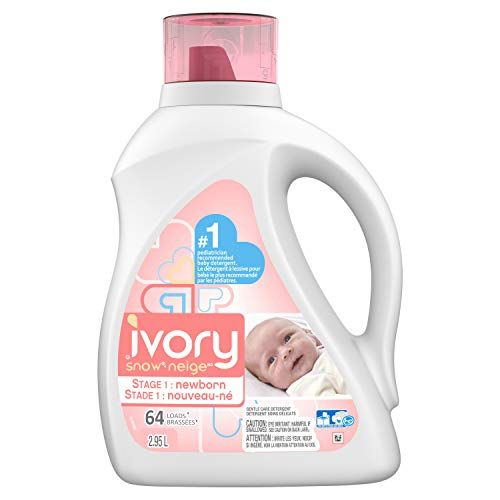 Ivory Snow Liquid Detergent Stage 1 Newborn 2 95 L 64 Loads