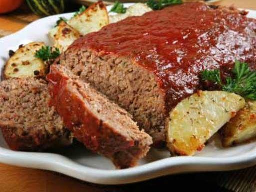 reste de viande de boeuf :  Pain de viande rapide