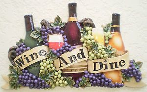 Pinterest the world s catalog of ideas for Wine and dine wall art