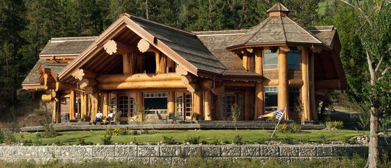 Log cabin homes in colorado eagle brae log cabins are for Cabin builders in colorado