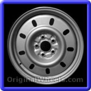 Ford Taurus 2000 Wheels & Rims Hollander #3382  #FordTaurus #Ford #Taurus #2000 #Wheels #Rims #Stock #Factory #Original #OEM #OE #Steel #Alloy #Used